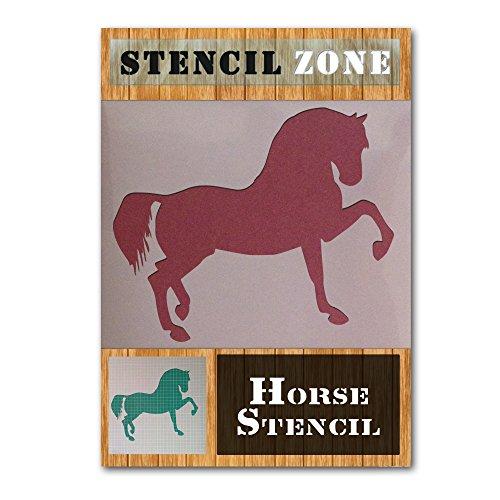 Pferd Bein bis Mylar Airbrush Gemälde Art Wand Schablone A1 Size Stencil - Xlarge (Royal Design Wand Schablone)