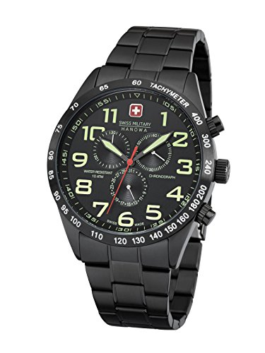 Swiss Military Hanowa Men's Night Rider Watch Chrono 06- 5268.13.007