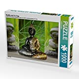 Buddha und Yin Yang 1000 Teile Puzzle quer