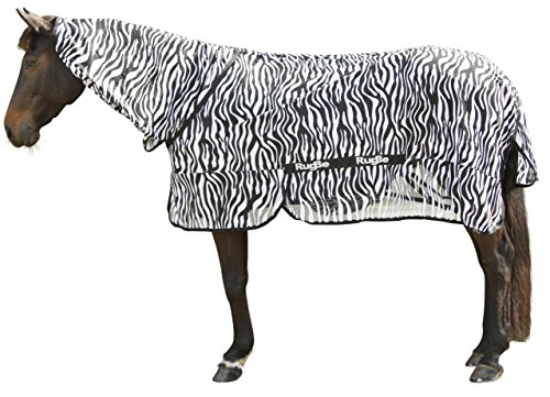 Kerbl 326124 Fliegendecke Zebra inklusiv Halsteil