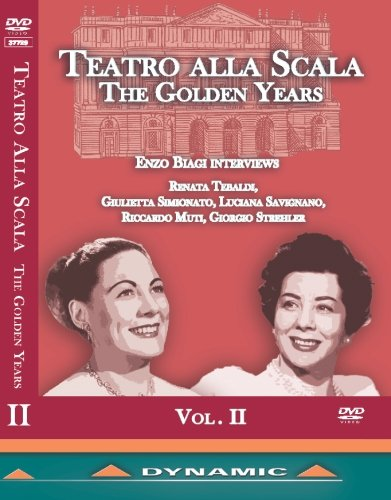 Teatro alla Scala: The Golden Years Vol. 2 [DVD]