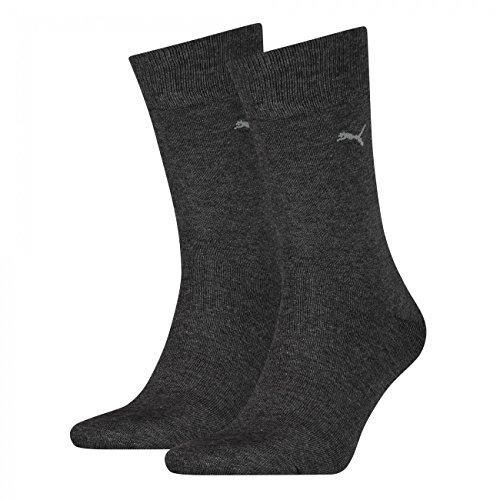 PUMA Herren Casual Socken Classic 8er Pack (39-42, anthracite)