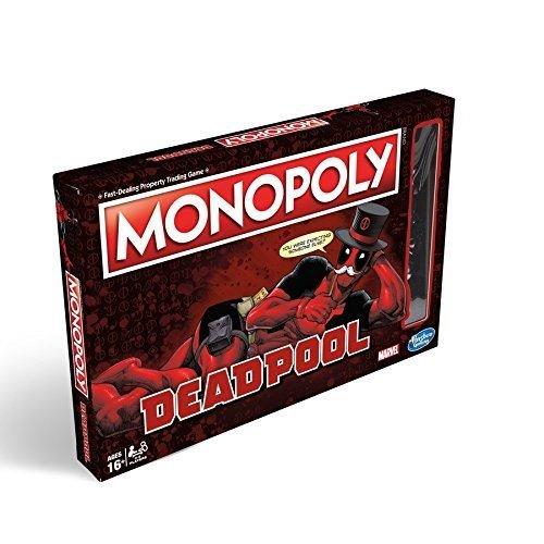 Hasbro Gaming e2033102Marvel Deadpool Edition Monopoly - Deadpool Machen