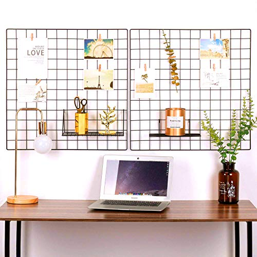 Oucles Grid Wall Photo Wall Set de 2