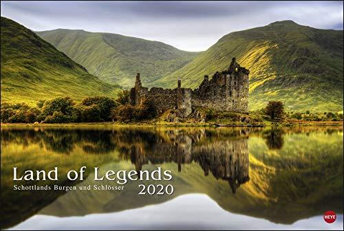 Land of Legends Kalender 2020: Schottlands Burgen und Schlösser