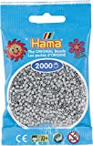 Hama Mini-Bügelperlen 2000 im Beutel hellgrau