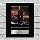 Kiefer Sutherland firmado foto enmarcada Jack bauer-24