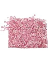 YouN Baby - Pañuelo de encaje para fotos (rosa)