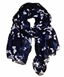 UK SELLER!!! Extensive range of Celebrity Style Ladies Long Scarves, Wraps, Shawls-NAVY BUTT