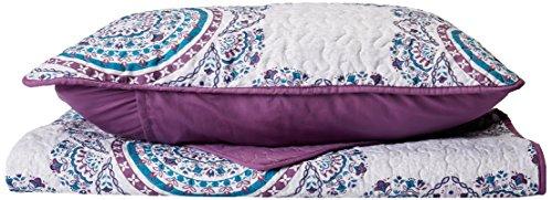 Intelligente Design Steppdecke, Violett, Twin/Twin XL (Xl Twin Tagesdecken)