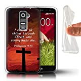 Stuff4 Phone Case for LG G2 Mini/D620 Christian Bible Verse