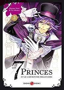 Les 7 Princes et le labyrinthe millénaire Edition simple Tome 3