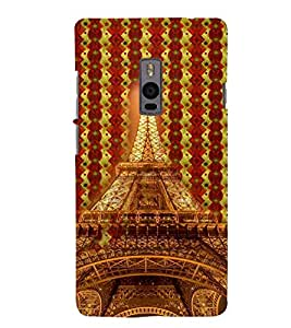 PRINTSWAG TOWER Designer Back Cover Case for ONE PLUS TWO