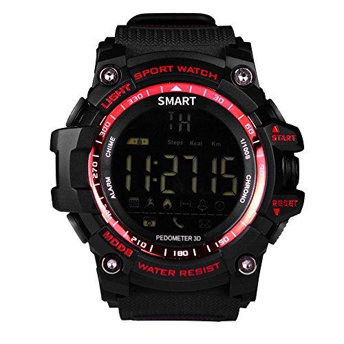 Berrose Smartwatch Multifunktions-Wasserdichte Smart Watch Bluetooth-Uhr Health Mate für Android iOS