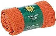 Non-Slip Yoga Towel - Orange