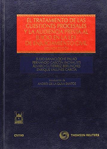 el-tratamiento-de-las-cuestiones-procesales-y-la-audiencia-previa-al-juicio-en-la-ley-de-enjuiciamie