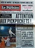 Telecharger Livres PARISIEN LIBERE LE No 11343 du 10 03 1981 GREVE DES MAITRES DES MILLIERS D ENFANTS DANS LA RUE MAISON ET CARRELAGE OPERATION PRINTEMPS NOUVELLE LIGNE CARDIN AUX ARTS MENAGERS SUR LES CHAMPS ELYSEES UNE TOURISTE BELGE DELESTEE DE 500 000 F DE BIJOUX 20 000 PLAINTES CHAQUE ANNEES A PARIS ATTENTION AUX PICKPOCKETS DU CIRQUE A LA COMEDIE MUSICALE BARNUM SUR SCENE EN NORVEGE LE DIRECTEUR DE L ASILE DE VIEILLARDS ACCELERAIT LA MORT DE SES PENSIONNAIRES ENFIN LES PERVENCHES (PDF,EPUB,MOBI) gratuits en Francaise