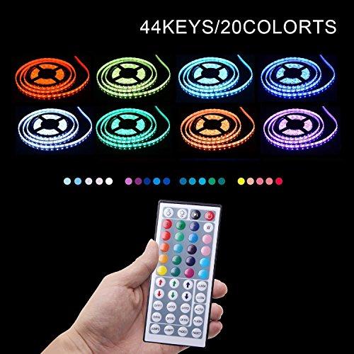 Simfonio   Tiras Led RGB 5 Metros 300 Leds 5050 SMD Tiras de LED Kit Completo