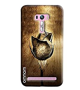 Omnam Leather White Ball With Gloves Printed Designer Back Cover Case For Asus Zenfone Selfie