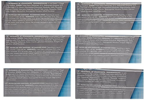 Frey Nutrition 55er Proteinriegel 20 x 50 g Mix-Box