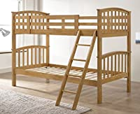 Barbican Oak Hardwood Bunk Bed