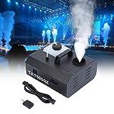 Ridgeyard 1500W DMX Macchina del fumo verticale 2L Macchina per Nebbia con telecomando per Palco matrimonio discoteca DJ bar party spray fino a 3m