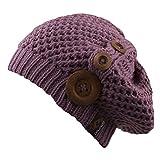 CHILLOUTS Nelly Sombrero Para Mujer, mujer, Mütze Nelly Hat, Viola (Purple), talla única