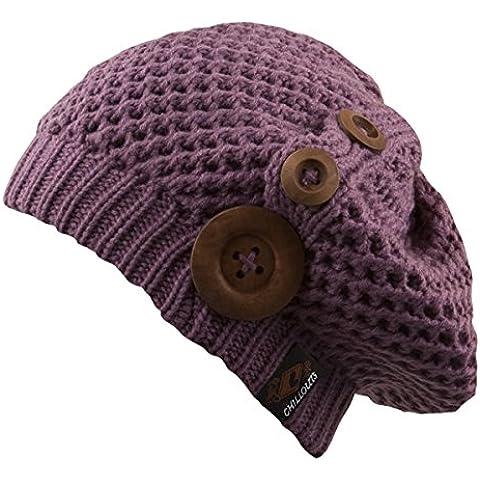 CHILLOUTS, Nelly Sombrero Para Mujer violeta Viola (Purple) Talla:talla única