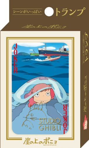 Studio Ghibli Playing Cards -Ponyo on on on the Cliff Part 2 cc4672