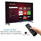 ProChosen 2.4G Backlit Air Mouse Remote, Wireless Keyboard and Infrared Learning for Kodi Android TV Box, Smart TV, PC, HTPC, Windows, Mac OS, Linux