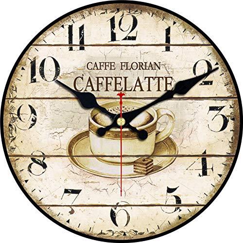Mtye 15cm / WC0001 / Shabby Chic, Orologi da Parete caffè, Orologio da Parete Vintage, Orologi da Parete Decorazioni per…
