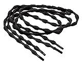 Laufstoff Sistema de cordones elásticos cordones para botas-para todos se convierte Slipper unidad plástico, negro