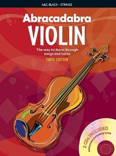 Abracadabra Violin: Bk. 1: The Way to Learn Through Songs and Tunes (Abracadabra Strings) by Davey, Peter 3rd (third) Revised Edition (2009)
