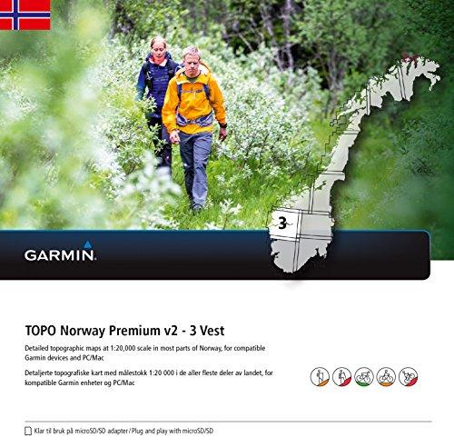 Premium 3 - Vest topographische Karte von Vest - (Garmin Topo-karten Karte)
