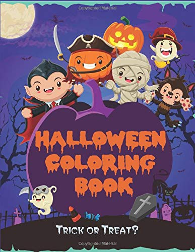 (Halloween Coloring Book: Kids Halloween Book, Fun for All Ages (Children's Halloween Books, Band 1))