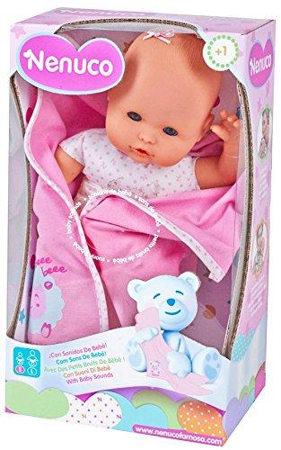 Nenuco   Muñeco recién nacido con sonidos (Famosa 700012123)
