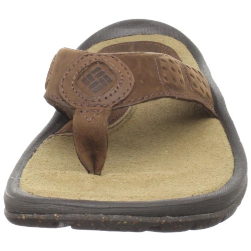 Columbia Manarola, Tongs homme Braun (Tobacco 256)