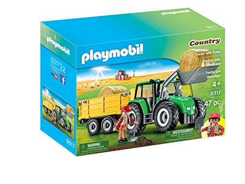Playmobil Tractor Remolque