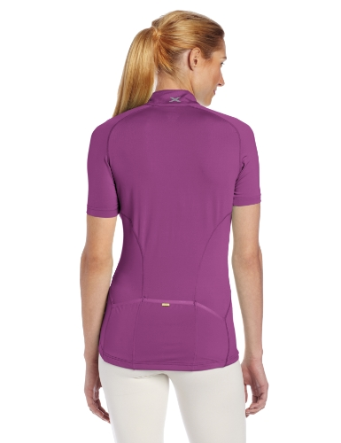 2 x u Damen Thermo Short Sleeve Jersey Palace Purple