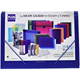 Plus Office A4-12/180213 - Carpeta clasificadora con 12 separadores, A4, color azul