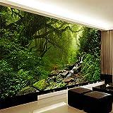 Mddjj Hd Bella Foresta Originale Paesaggio Natura Carta Da Parati Soggiorno Camera Da Letto Green Eye Eco-Friendly 3D Non Tessuto Home D-400X280Cm