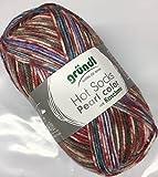 Gründl Hot Socks Pearl color – Fb. 08, weiche Wolle mit Kaschmir, nicht nur zum Socken stricken