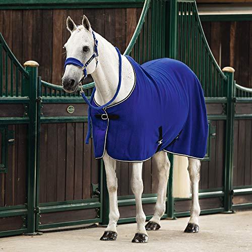 Horseware Rambo Wool Sheet - Royal Blue/Silver & Black