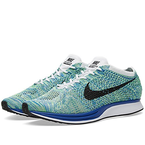 Nike, Scarpe da Trail Running uomo Bianco/nero/blu/verde (White / nero-Gm Royal-Grn Strk)