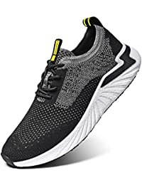 LK LEKUNI Zapatillas Running Hombre Mujer Zapatos Deporte para Correr Trail Fitness Sneakers Ligero Transpirable