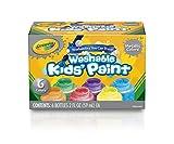 Crayola - Tempere Lavabili per Bambini, Colori Metallici