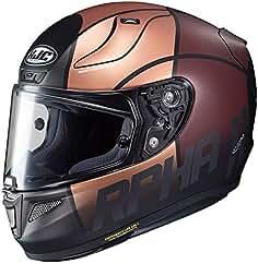 eb3c97371e241 Casco Moto Hjc Rpha 11 Quintain Oro-Marron-Plata (Xs