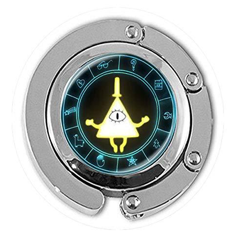 Kunst Bill (asd Anime Gravity Falls Mysteries Bill Cipher Rad Party Time Halskette Kunst Bild Glas Cabochon Cartoon Anhänger Aufhänger Literary Schmuck)
