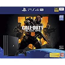 PS4 Pro 1 To B noir + Call Of Duty Black Ops 4