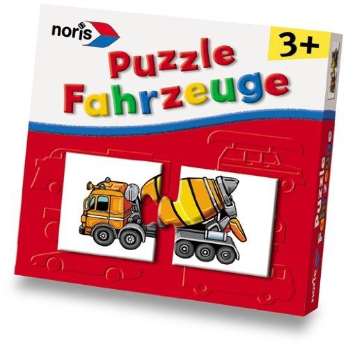 noris 608981803, Fahrzeug Puzzle